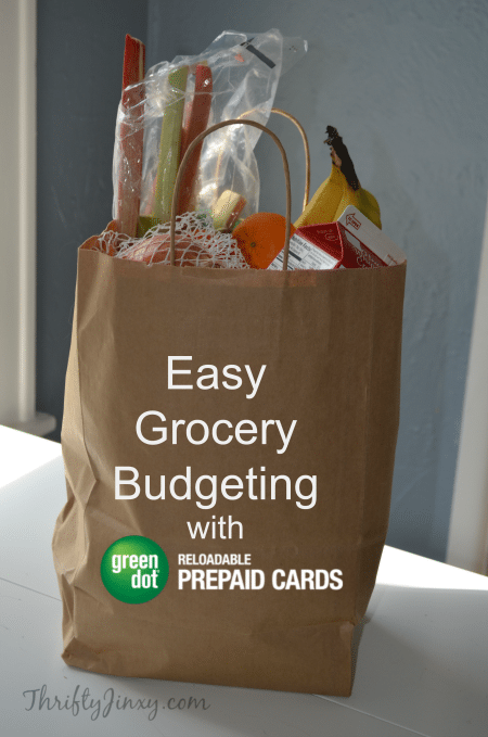 Easy Grocery Budgeting Green Dot Prepaid Cards
