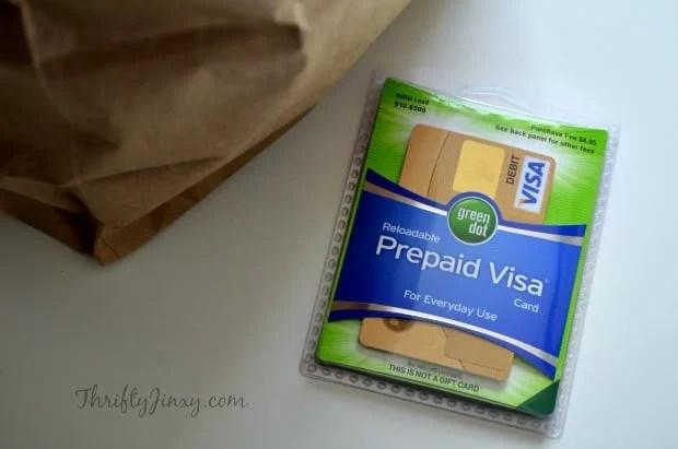 Green Dot® Reloadable Prepaid Visa® Card