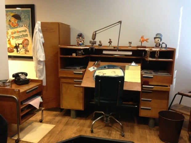 Illustrator Desk Disney Archives