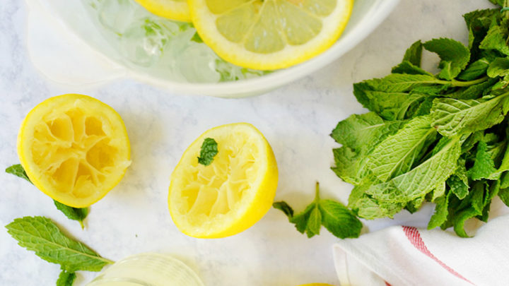 Mint-Infused Lemonade