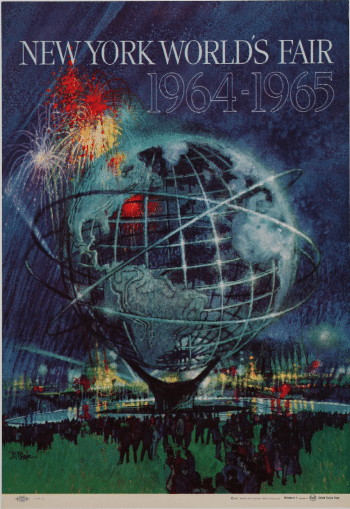 NY World's Fair Poster