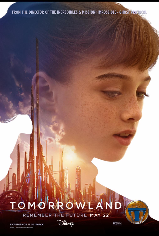 Tomorrowland Athena Poster