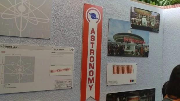 Tomorrowland Exhibit Display