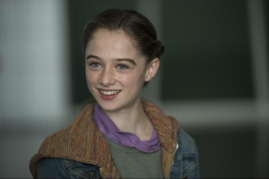 Tomorrowland Raffey Cassidy as Athena