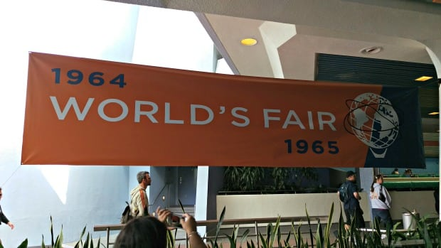 Tomorrowland World's Fair Banner