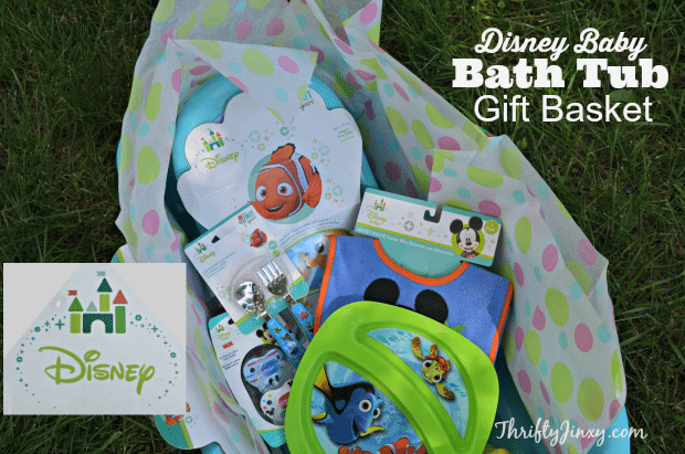 Disney Baby Bath Tub Gift Basket Shower Gift