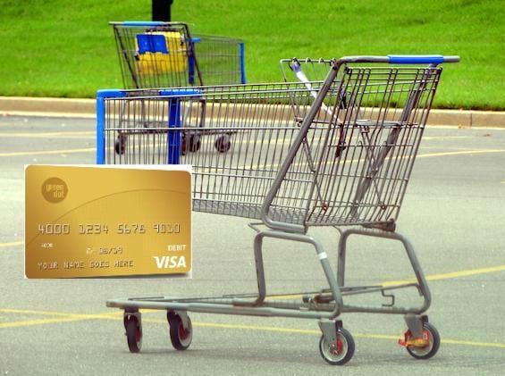 Grocery Cart Gren Dot