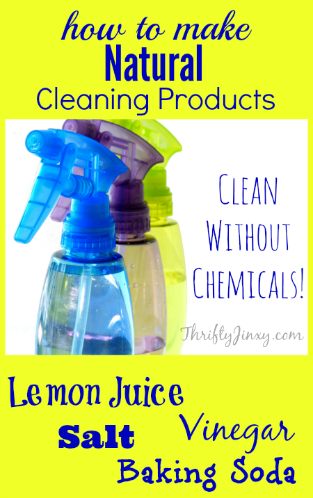 How to Make Natural Cleaning Products