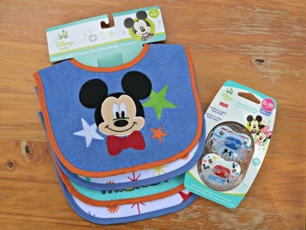 Mickey Mouse Bibs Pacifier