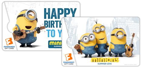 Minions Gift Cards