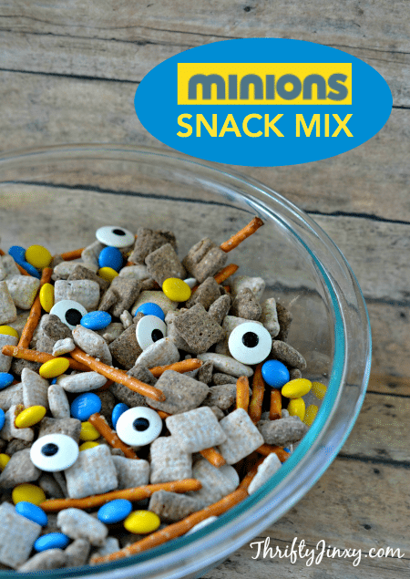 Minions Snack Mix Recipe