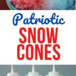 Patriotic Snow Cones