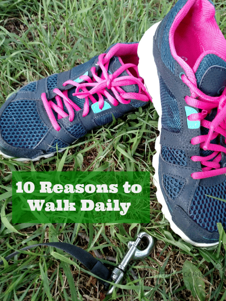 10 Reasons to Walk Daily