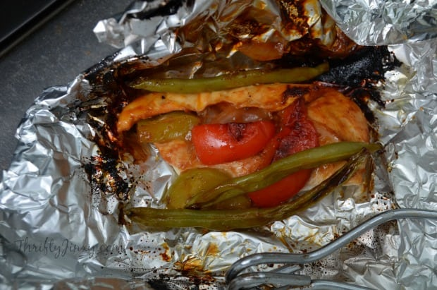 BBQ Chicken and Veggie Packets on the Grill