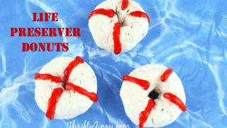 DIY Life Preserver Donuts - Perfect for Beach Parties or Shark Week