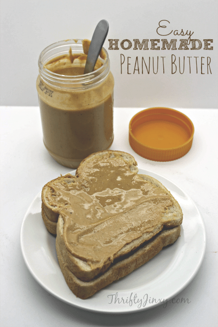 Easy Homemade Peanut Butter Recipe