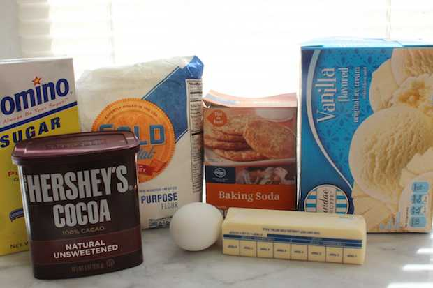 Homemade Ice Cream Sandwiches Recipe Ingredients