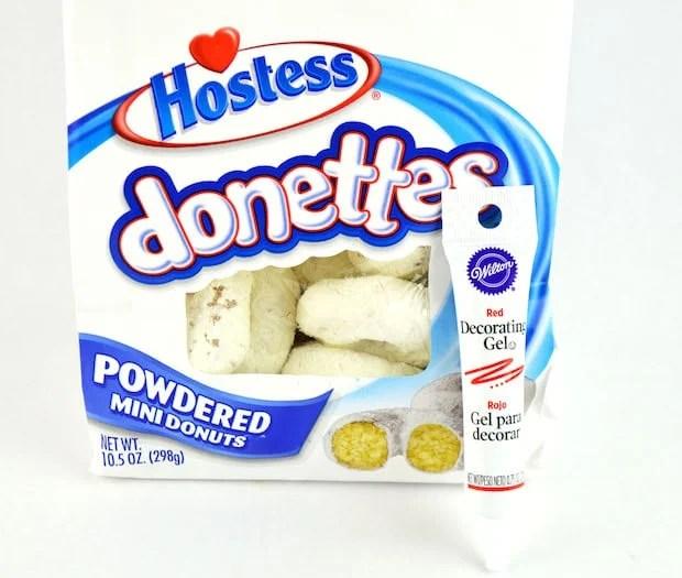 Life Preserver Donuts Ingredients