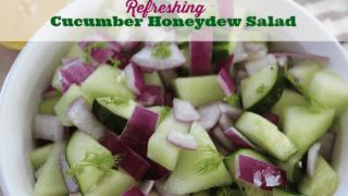 Cucumber Honeydew Salad