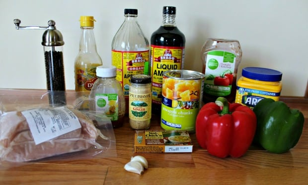 Slow Cooker Sweet and Sour Chicken Recipe Ingredients