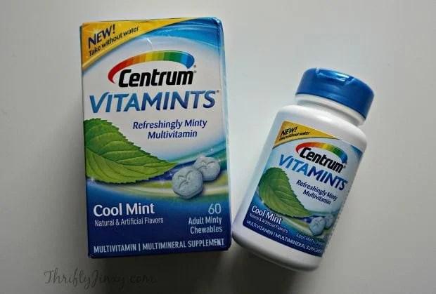 Centrum® VitaMints® Packaging