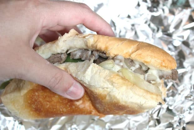 Easy Philly Cheesesteak Recipe for Camping