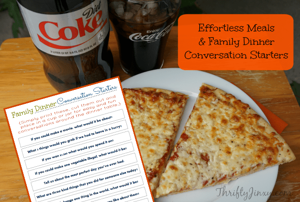 Effortless Meals Family Dinner Conversation Starters