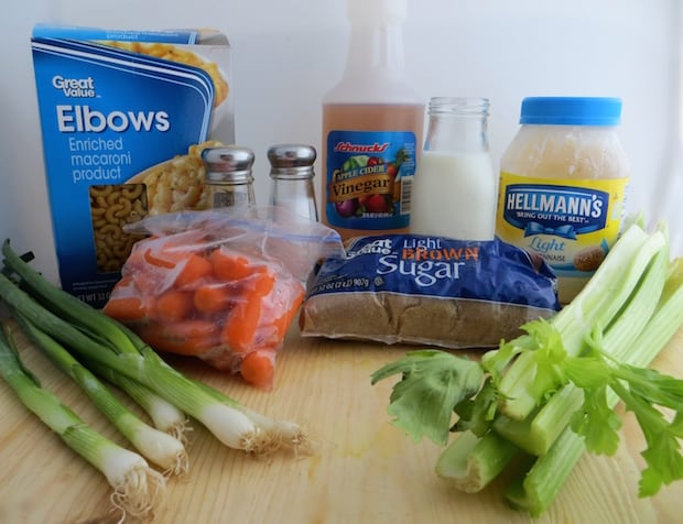 Hawaiian Macaroni Salad Recipe Ingredients