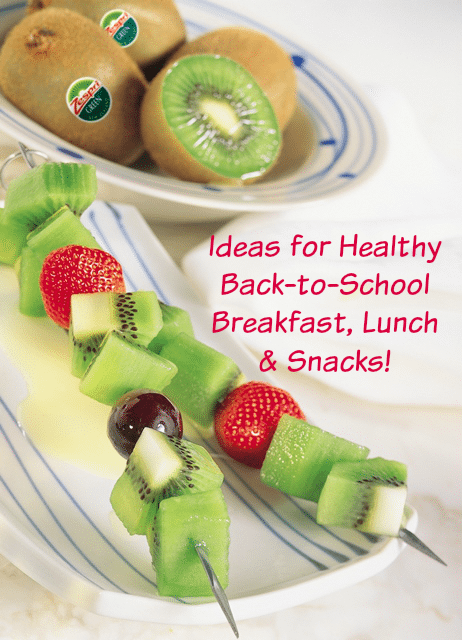 Healthy Back to School Foods