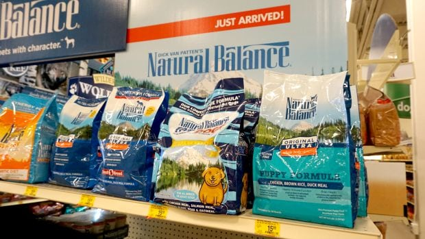 Natural Balance PetSmart Shelf