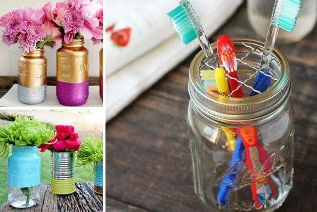 Recycled Jar Crafts