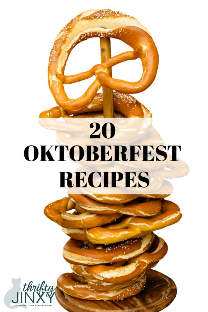 20 Oktoberfest Recipes