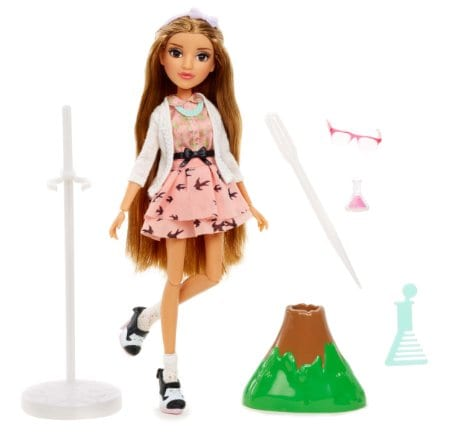 Project Mc2 Doll with Experiment - Adrienne's Volcano