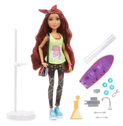 Project Mc2 Doll with Experiment - Camryn's Skateboard