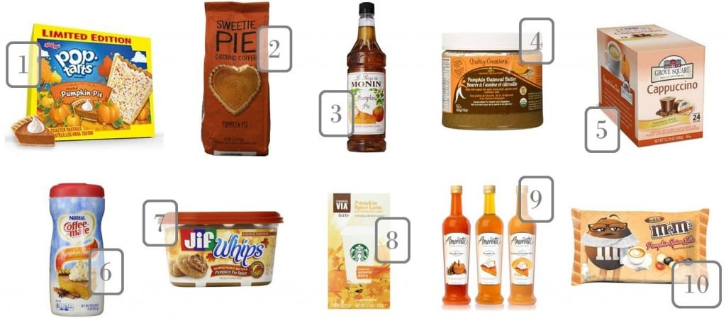 9.11 Round Up - Pumpkin Spice Items on Amazon TJ 1-10
