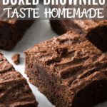 BOX BROWNIES TASTE HOMEMADE