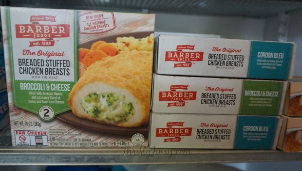 Barber Foods Freezer