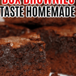How to Make Box Brownies Taste Like Homemade