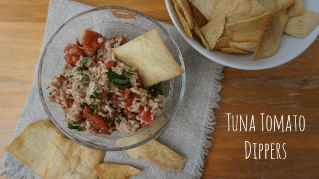 Tuna Tomato Dippers Recipe with Bumble Bee Tuna