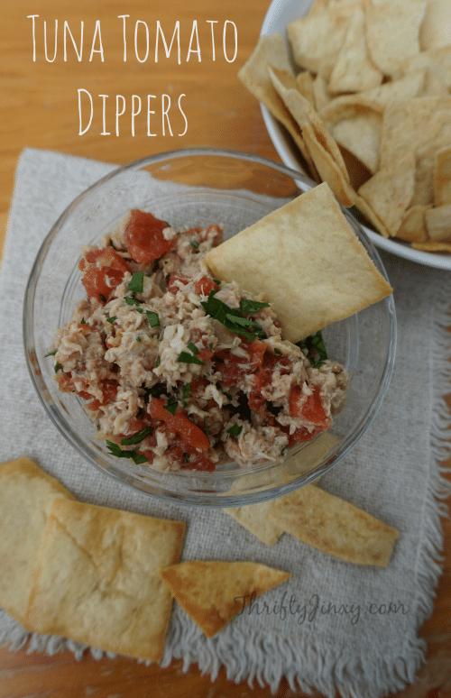 Tuna Tomato Dippers Recipe