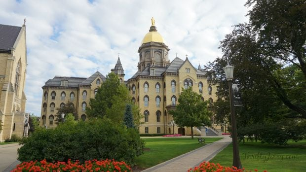 University of Notre Dame Main Building