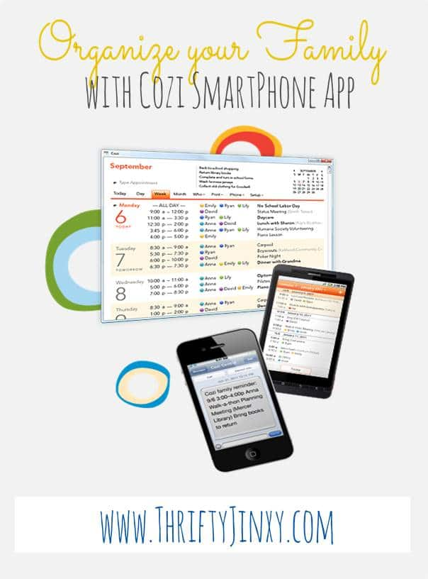 Our Favorite Family Organization App Cozi