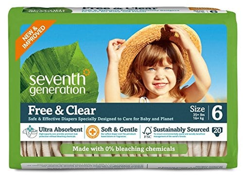 Amazon: 50% Off Seventh Generation Diapers, Wipes, and More