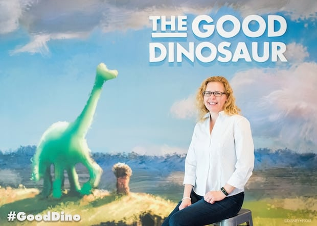 Chrysa Duran The Good Dinosaur Portrait