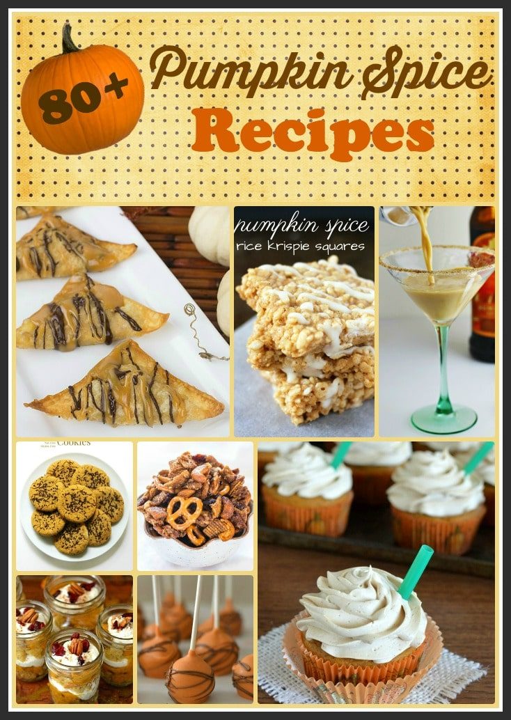 Pumpkin Spice Recipe Roundup