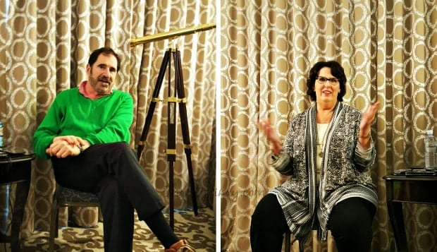 Richard Kind Phyllis Smith Interview