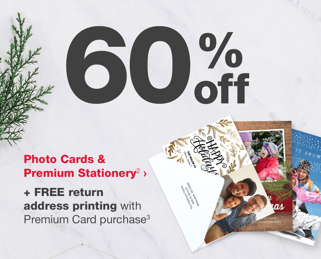 WALGREEENS PHOTO CARDS DISCOUNT
