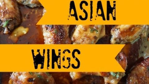 Sticky Asian Wings with Honey