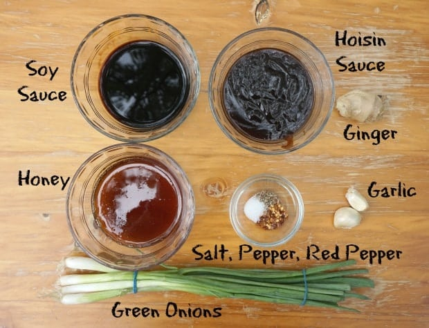 Sticky Asian Wings Recipe Ingredients