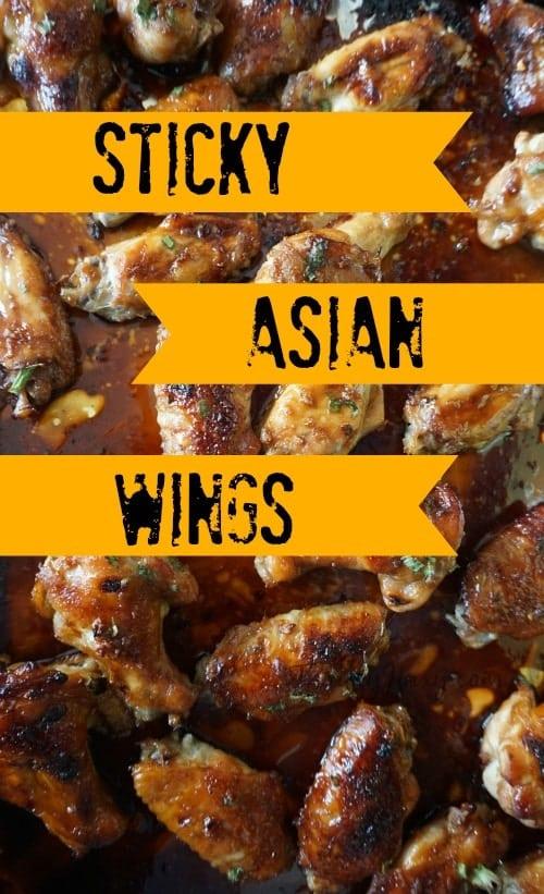 Sticky Asian Wings Recipe